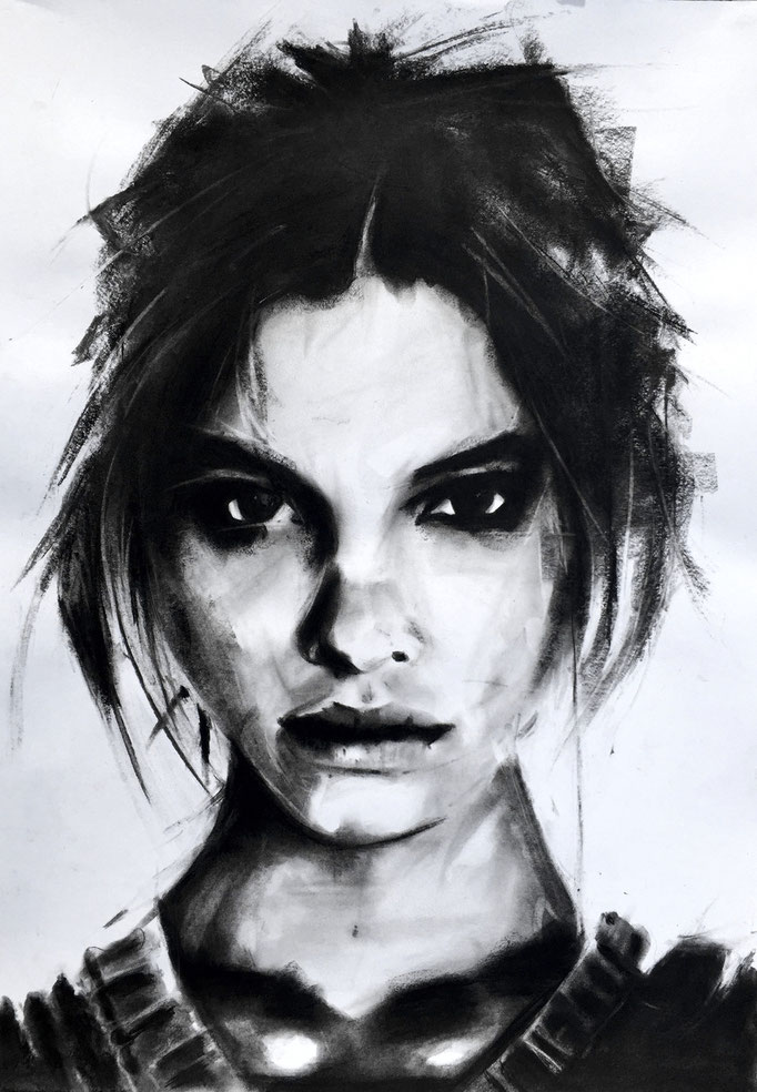 Julia | 42 x 59 cm | Sold