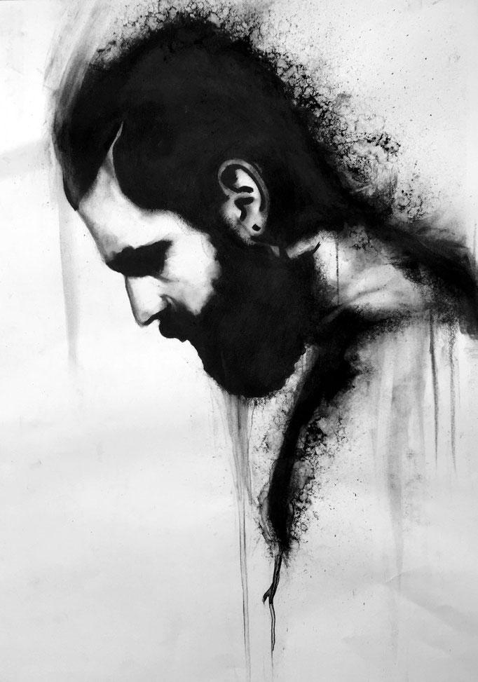 Real men have beards | 42 x 59 cm | Eur 200