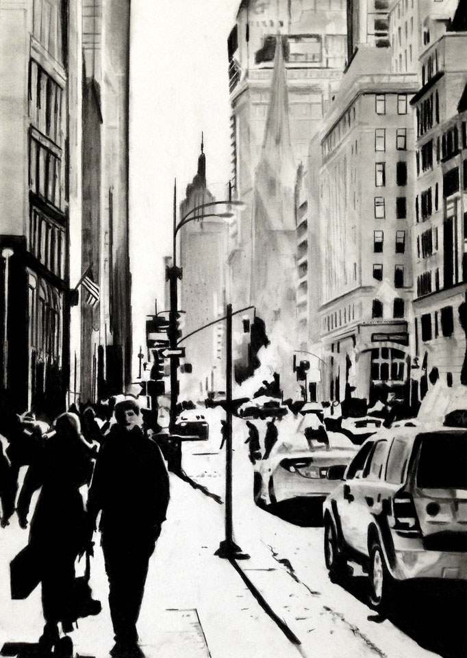 New York Style | 42x 59| Sold