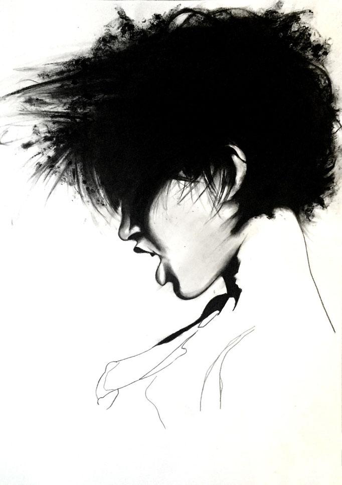 Dirty girl | 59 x 42 cm | Eur 300