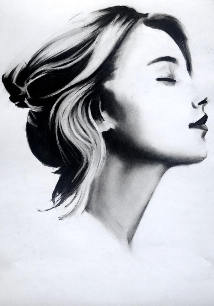 Just enjoy | 59 x 42 cm | Sold