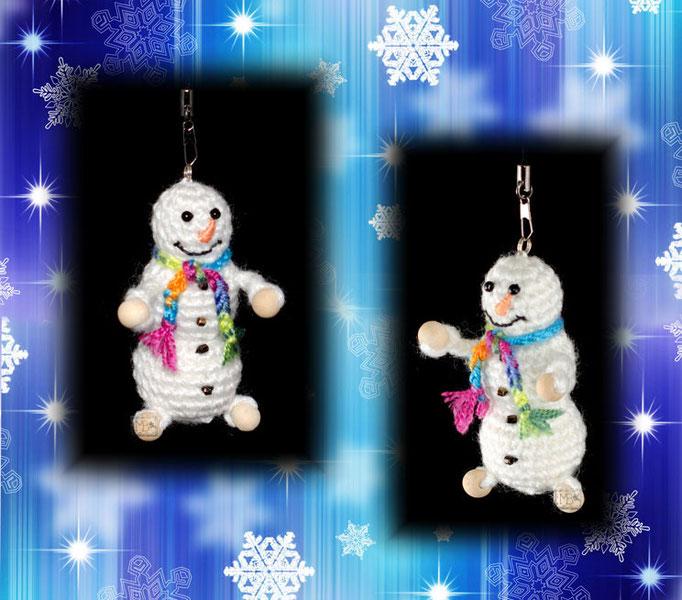 """Новогодний сувенир """"Радостный Снеговичок"""". Авторская работа / Christmas souvenir """"Happy Snowman"""". The work of authorship."""