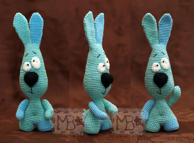 СамоСтоятельный Заяц-Скептик / SelfStanding Hare Sceptic 16 cm