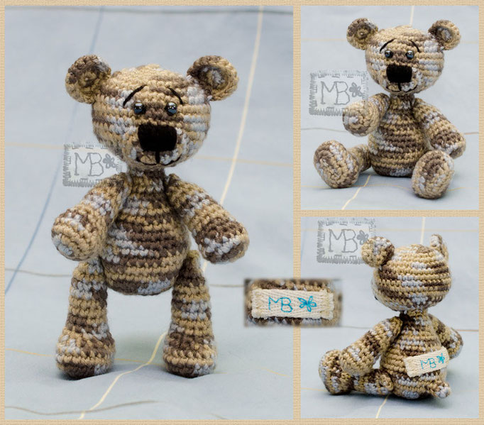 Медвежонок Мокачино / Little Bear Mockachino 11 cm