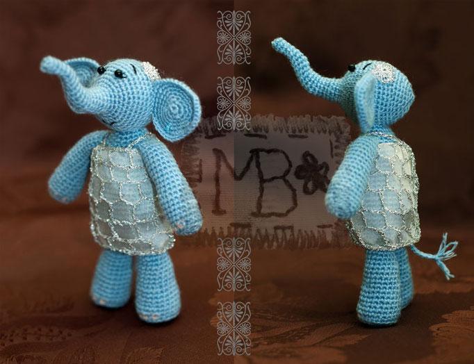 Слонечка Мама / Elephant Mother 14 cm  Авторская работа / The work of authorship