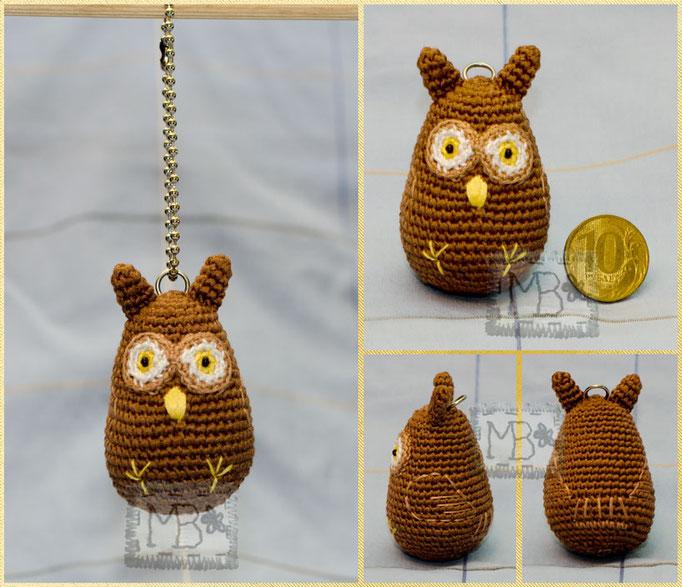 Маленькая мудрая Сова / Little Wise Owl 6,5 cm, a trinket