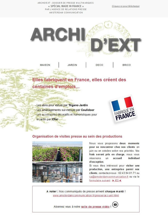 Archid'Ext, spécial Made in France