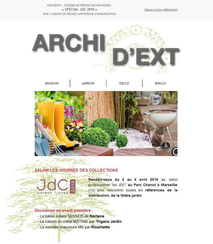 Archid'Ext, spécial JDC 2019