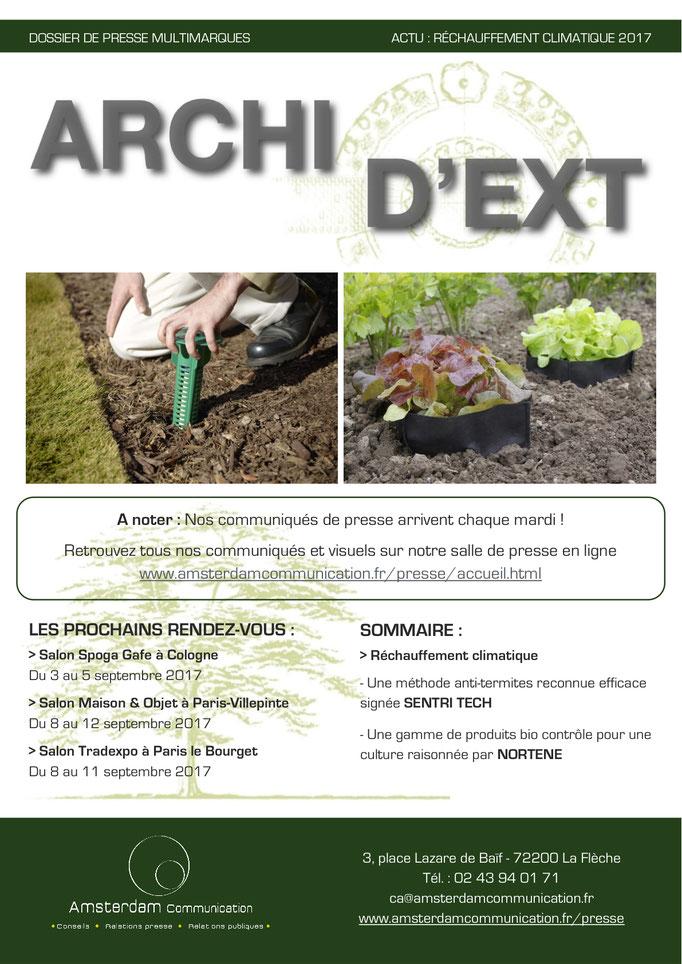 Archid'Ext - août 2017 - Actu Réchauffement Climatique 2017 - Amsterdam Communication