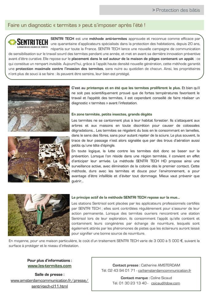 Archid'Ext - août 2017 - Actu Réchauffement Climatique 2017 - SENTRI TECH