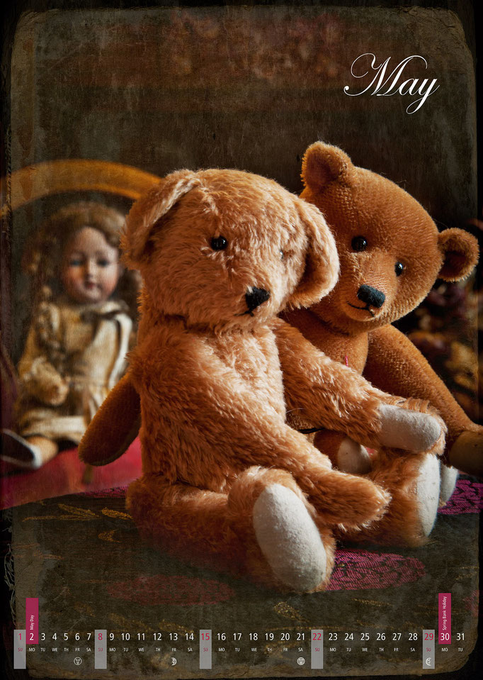 Calendar Teddy Bears