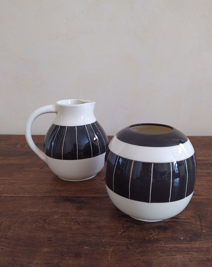 Vase et pichet