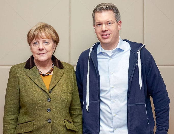 Frank and Dr. Angela Merkel Berlin
