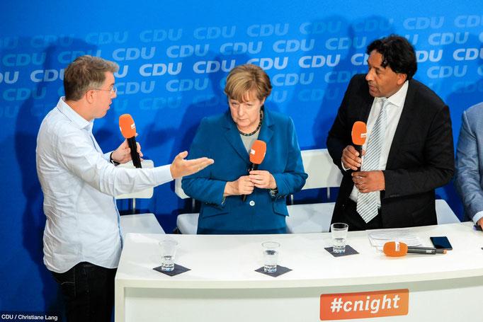 #cnight mit Dr. Angela Merkel 2