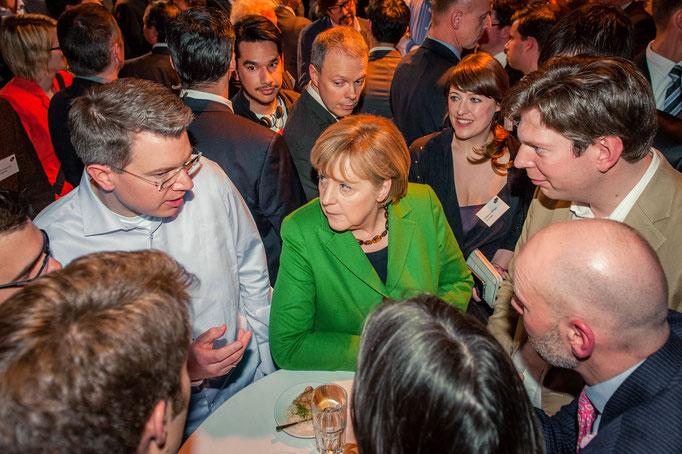 Frank and Dr. Angela Merkel