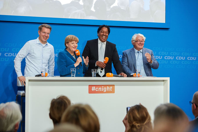 #cnight mit Dr. Angela Merkel