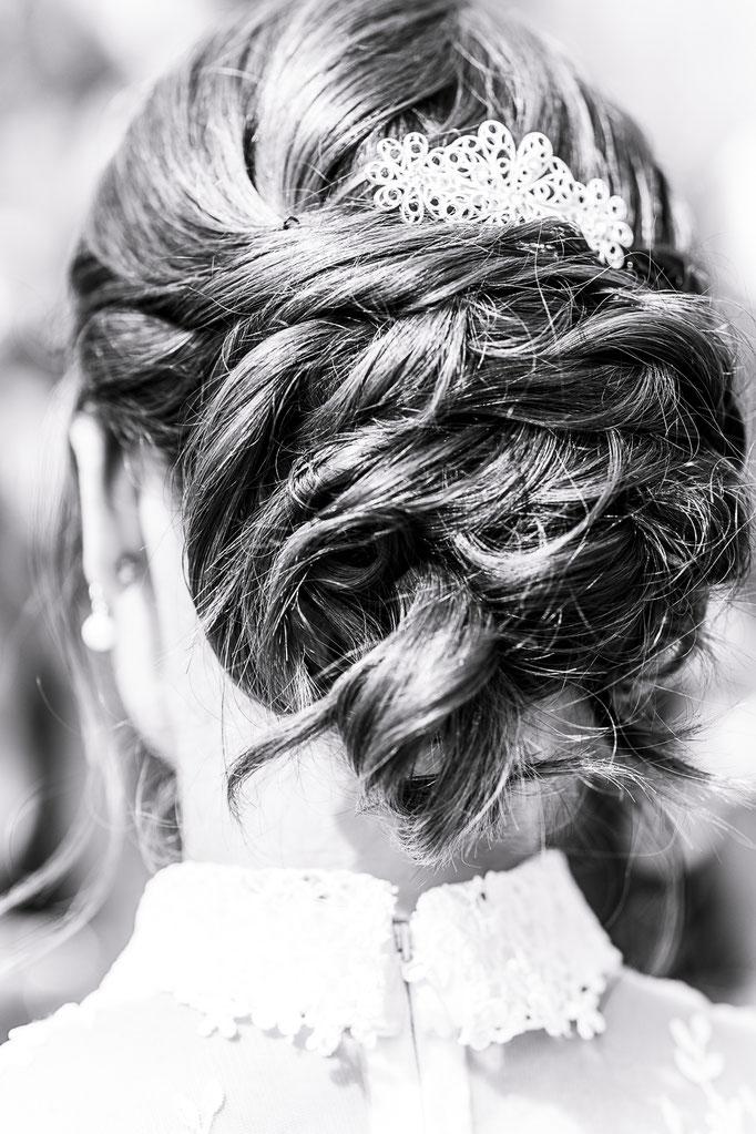 Frisuren sind auf Hochzeiten oft ein Hingucker