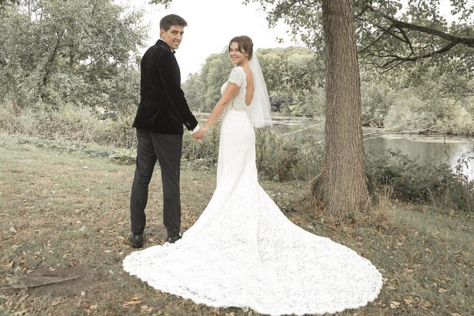 ... was für ein Brautkleid!