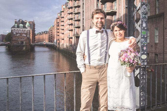 Hochzeitsreportage - Es muss nicht immer Smoking sein