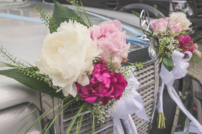 Hochzeitsreportage - Hochzeitsoldtimer