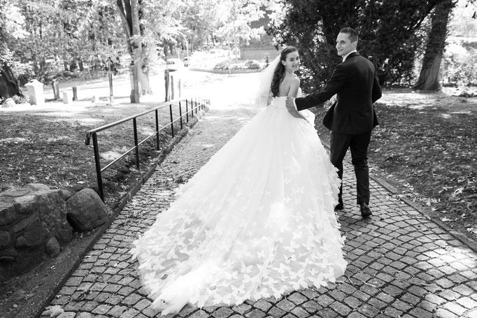 Hochzeitsreportage - ein tolles Brautkleid