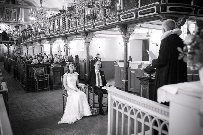 Hochzeitsreportage - Es gibt wenige Hochzeitskirchen die schöner sind als die in Kirchwerder