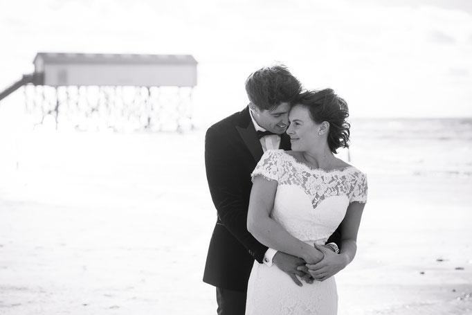 Hochzeitsreportage am Strand von SPO