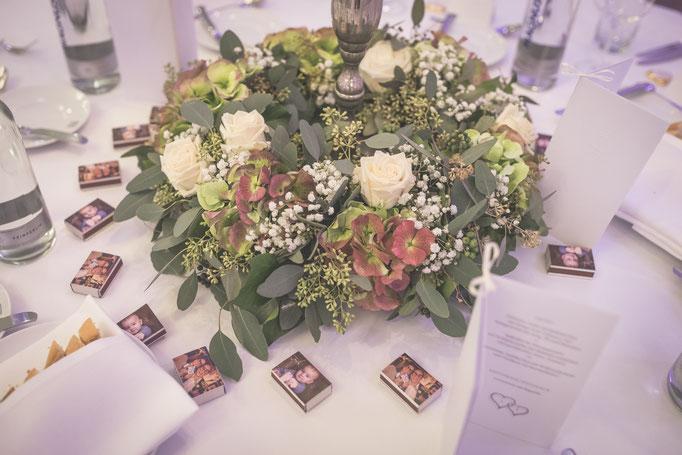 Hochzeitsreportage - Hochzeitsdeko
