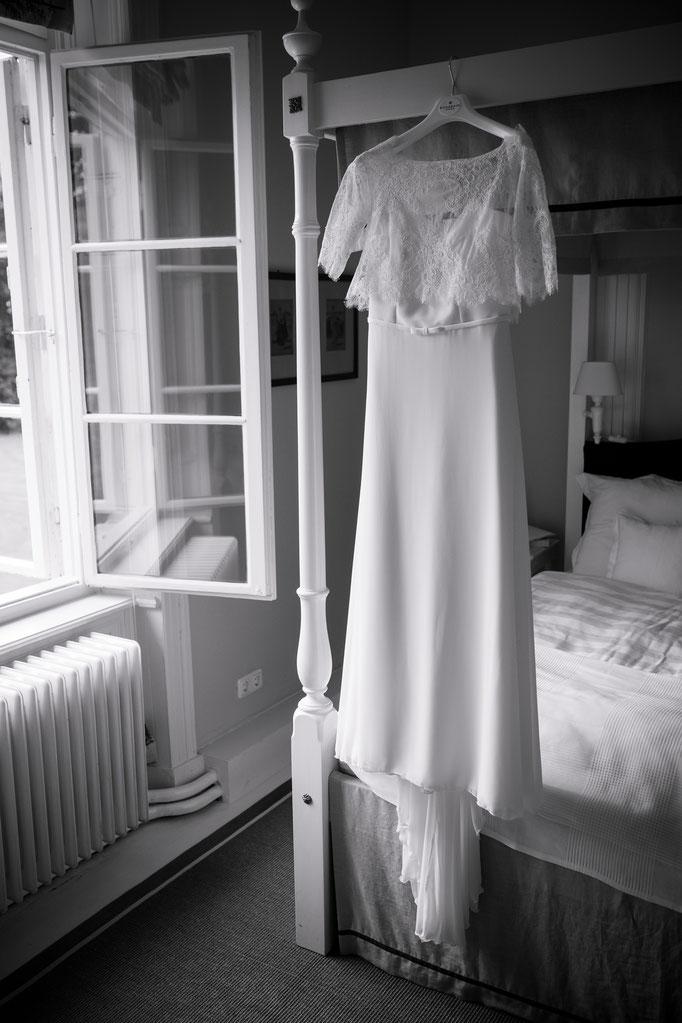 Hochzeitsreportage - Brautkleid