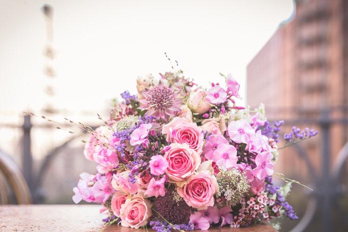 Hochzeitsreportage - Brautstrauß