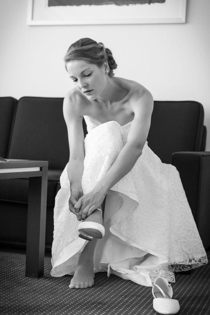 Hochzeitsreportage - selbst ist die Braut