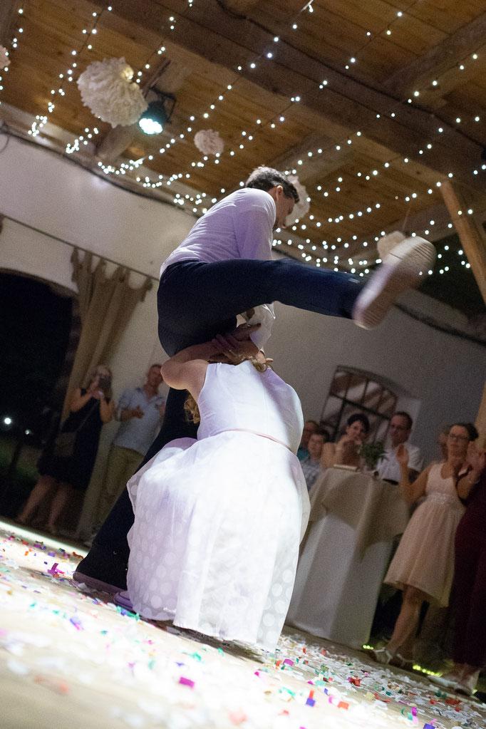 Rock 'n Roll als Hochzeitstanz