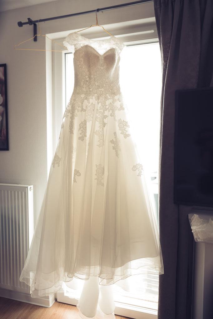 Hochzeitskleider sind so unterschiedlich wie die Bräute, die sie tragen