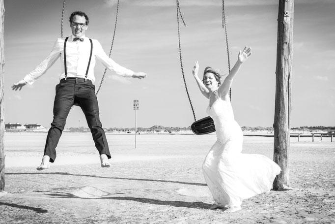 Hochzeitsreportage -Heiten soll Spaß machen!