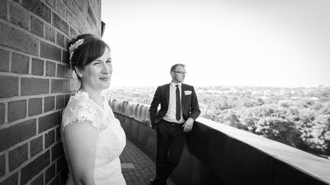 Heiraten mit Aussicht im alten Wasserturm in Lüneburg