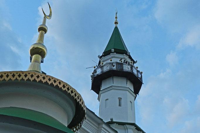 Die älteste erhaltene Moschee von Kasan war auch während der Sowjetzeit nie geschlossen.