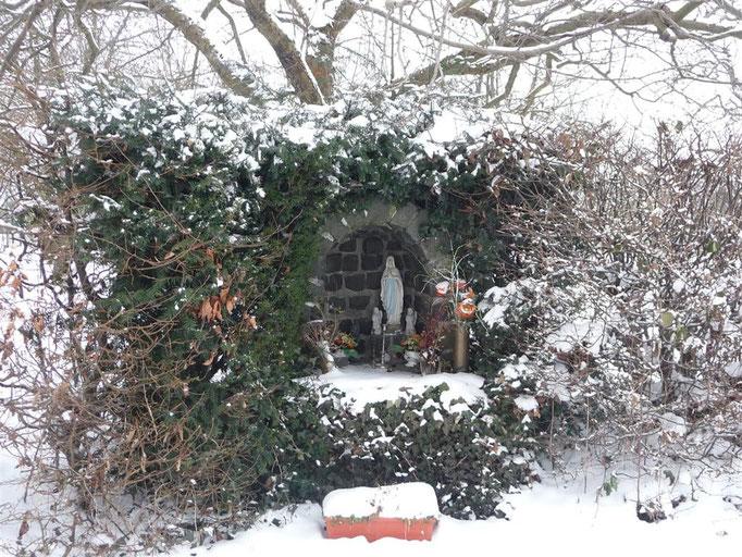 Reposoir en hiver (2010)