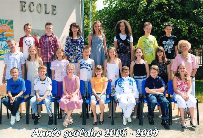 Classe Mme Salvin  2008-09
