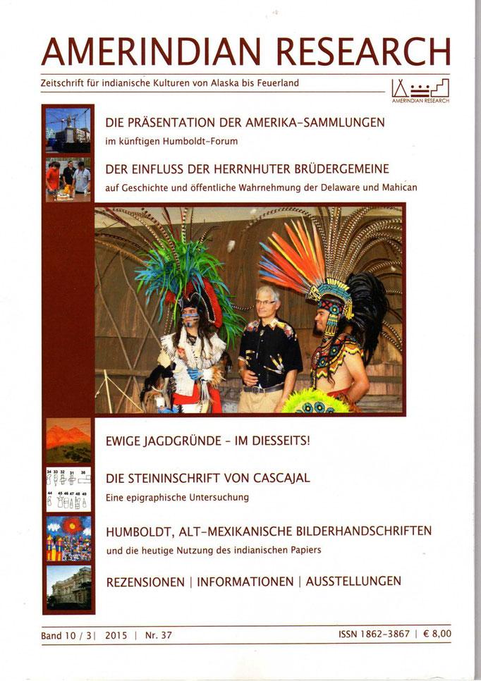 Amerindian Research, Zeitschrift für indianische Kulturen