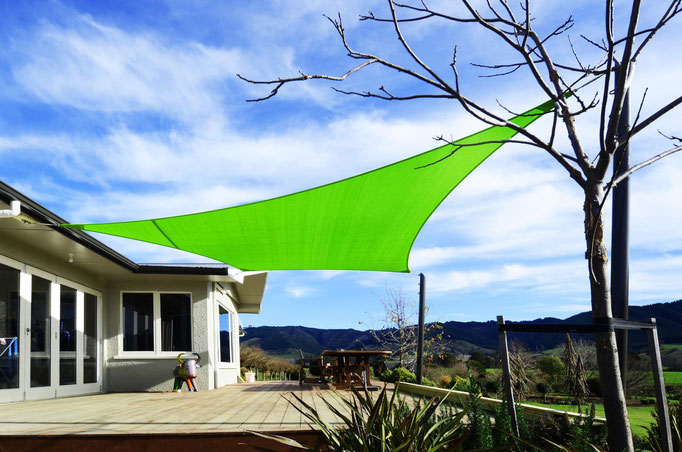 Shade Sail, Kohatu, Nelson, New Zealand