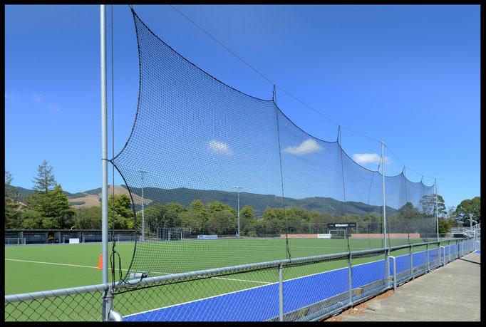 Hockey Side Nets, Saxton Hockey Turf, Nelson