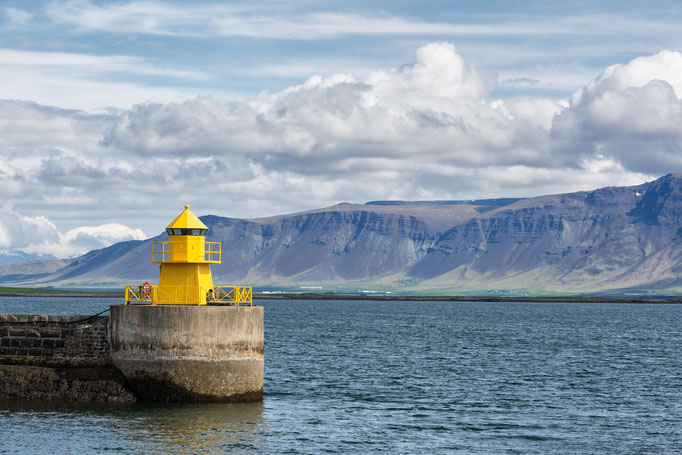 Reykjavík / Skarfagarðs Breakwater Head lighthouse