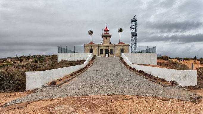 Faro Ponta da Piedade, Portugal