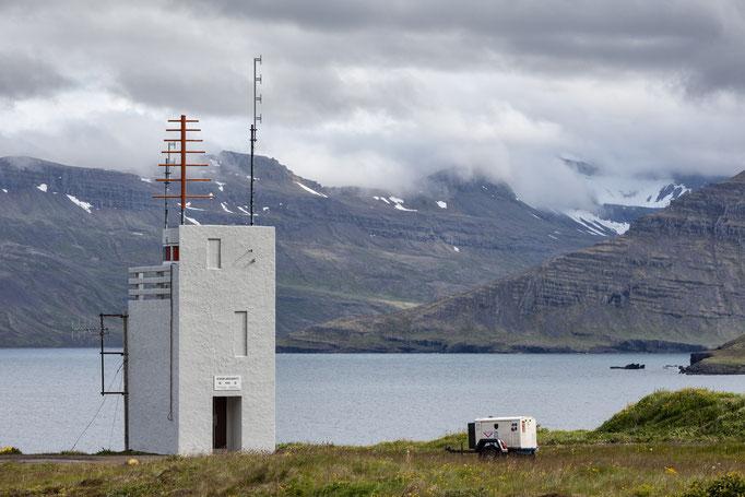 Norðfjarðarviti bei Neskaupstaður