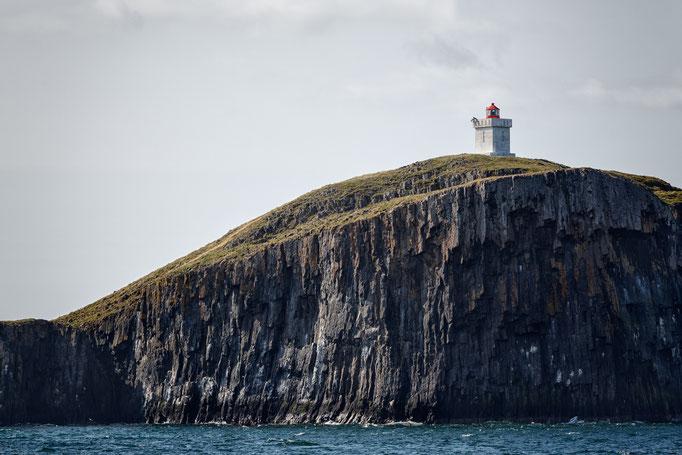 Leuchtturm im Breiðafjörður