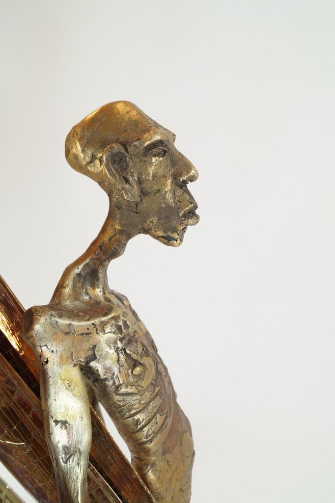 """""""Biotop"""" Einzelstück 65x17x55cm Bronze 2015"""