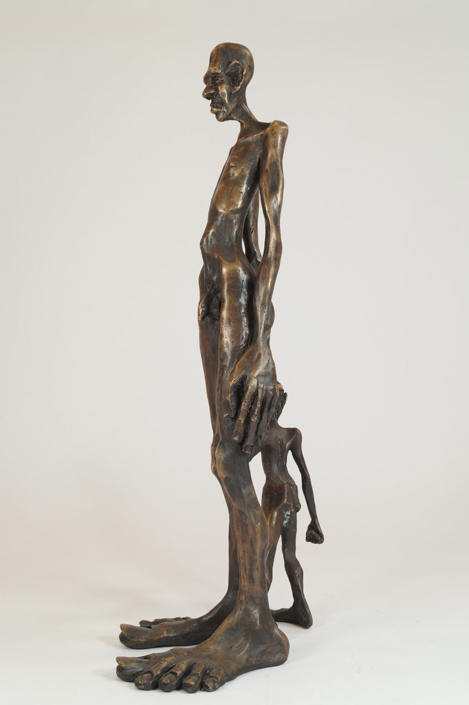 """Nachlass"" Edition 3+1EA Bronze 54x25x23cm (VERGRIFFEN)"