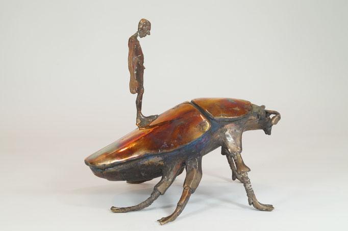 """Seelsorger"" Edition 5+2EA Bronze 25x28x24cm (VERGRIFFEN)"