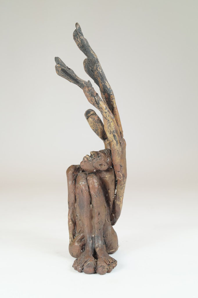 """Linke"" Edition 9+2EA Bronze 21x8x6cm"