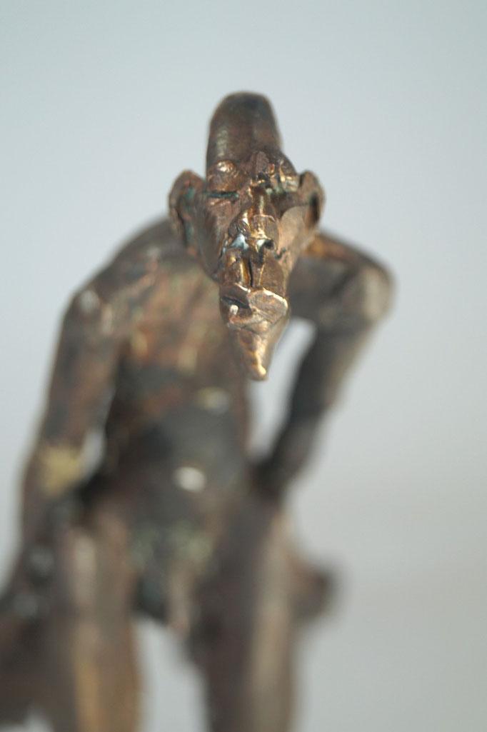 """Unschuld"" Edition 9+2E.A. Bronze 23,5x26x15cm"